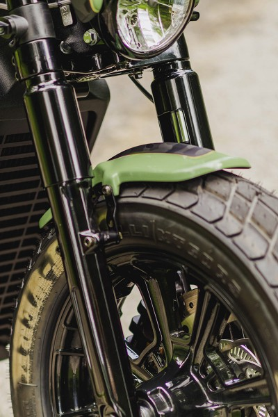 INDIAN SCOUT - Frontfender OLD SCHOOL (BJ. Scout Modelle ab 2015)