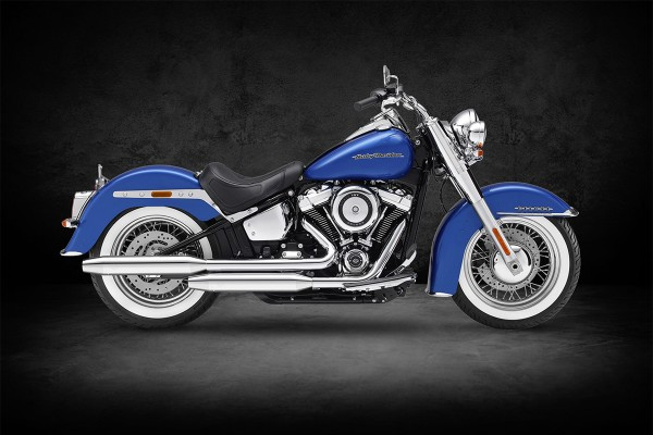 HARLEY SOFTAIL - KESSTECH Fusion Long 2in2 (Deluxe ab 2018 bis 2020)